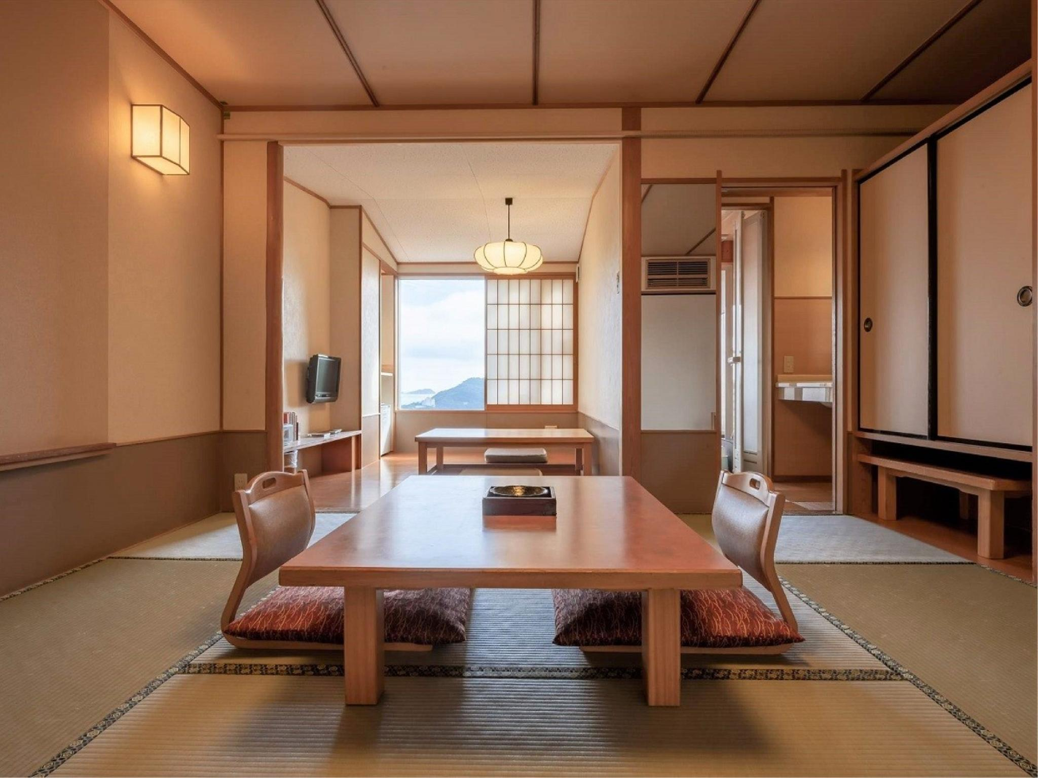 Japanese-style Room (Japanese-style Room with Open-air Bath + Horigotatsu (Hamayu Wing))