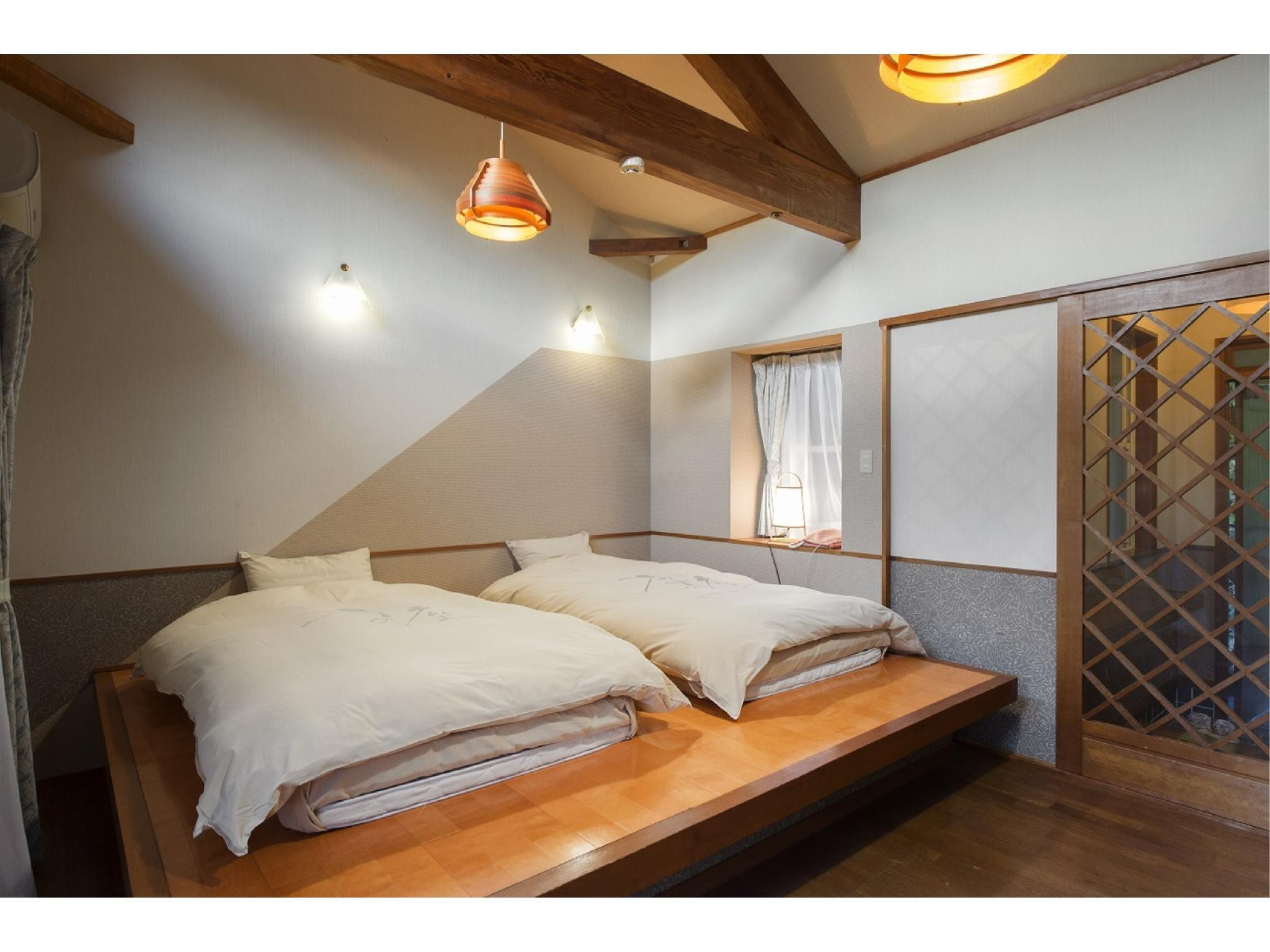 Superior Japanese/Western-style Room with Open-air Hot Spring Bath (Forest Cottage)