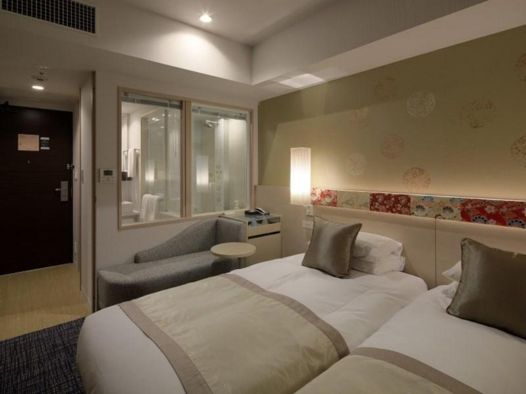 Twin Room - Guestroom Hotel Grand Bach Kyoto Select