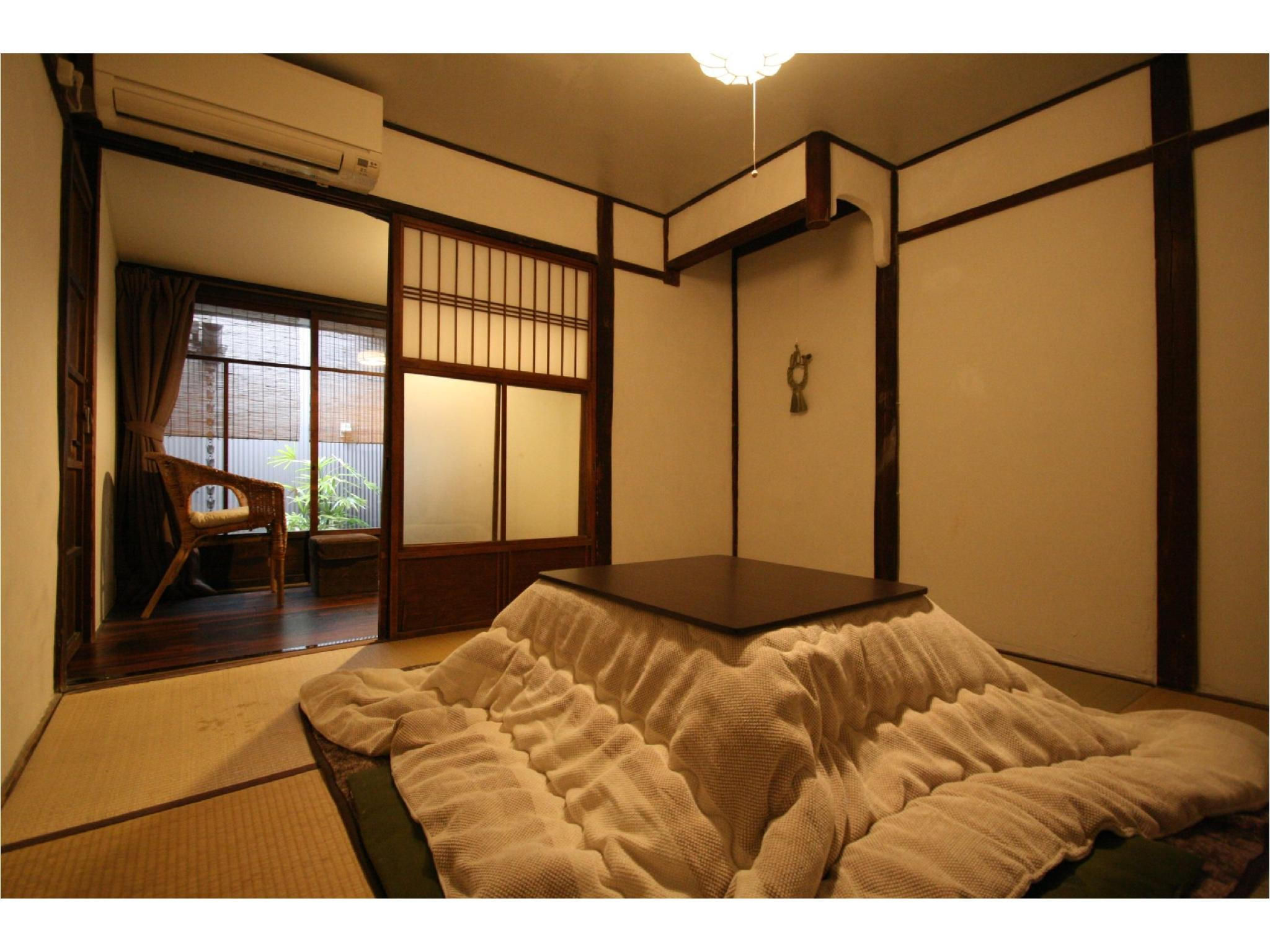 Private Japanese-style Room with Small Garden (Susutake Type)