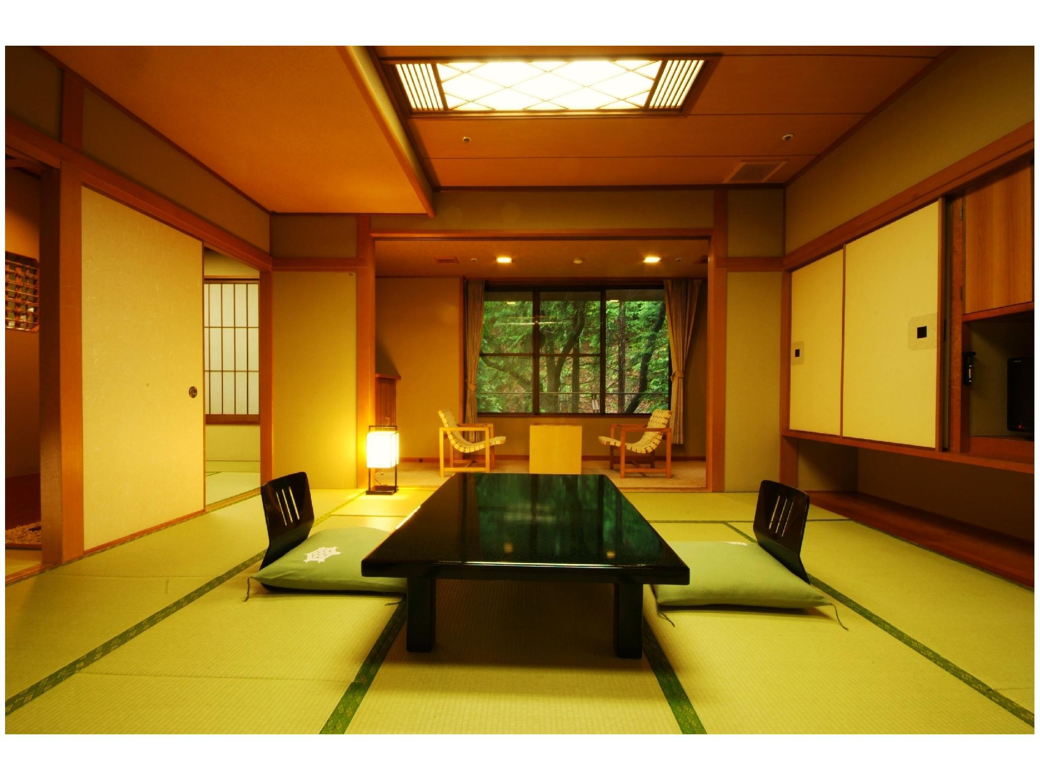 Deluxe Japanese-style Room (2 Room Type)