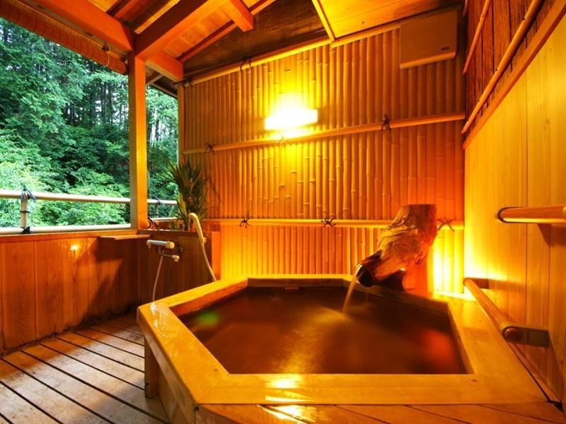 Japanese-style Room with Open-air Bath (Shikakan-no-To Wing)