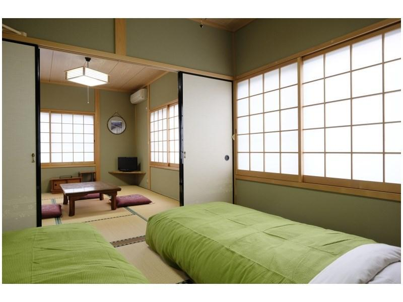 【5号梅・6号橘】和室二間続き(バス・トイレ無) (Japanese-style Room (Ume Type/Tachibana Type) *No bath or toilet in room)