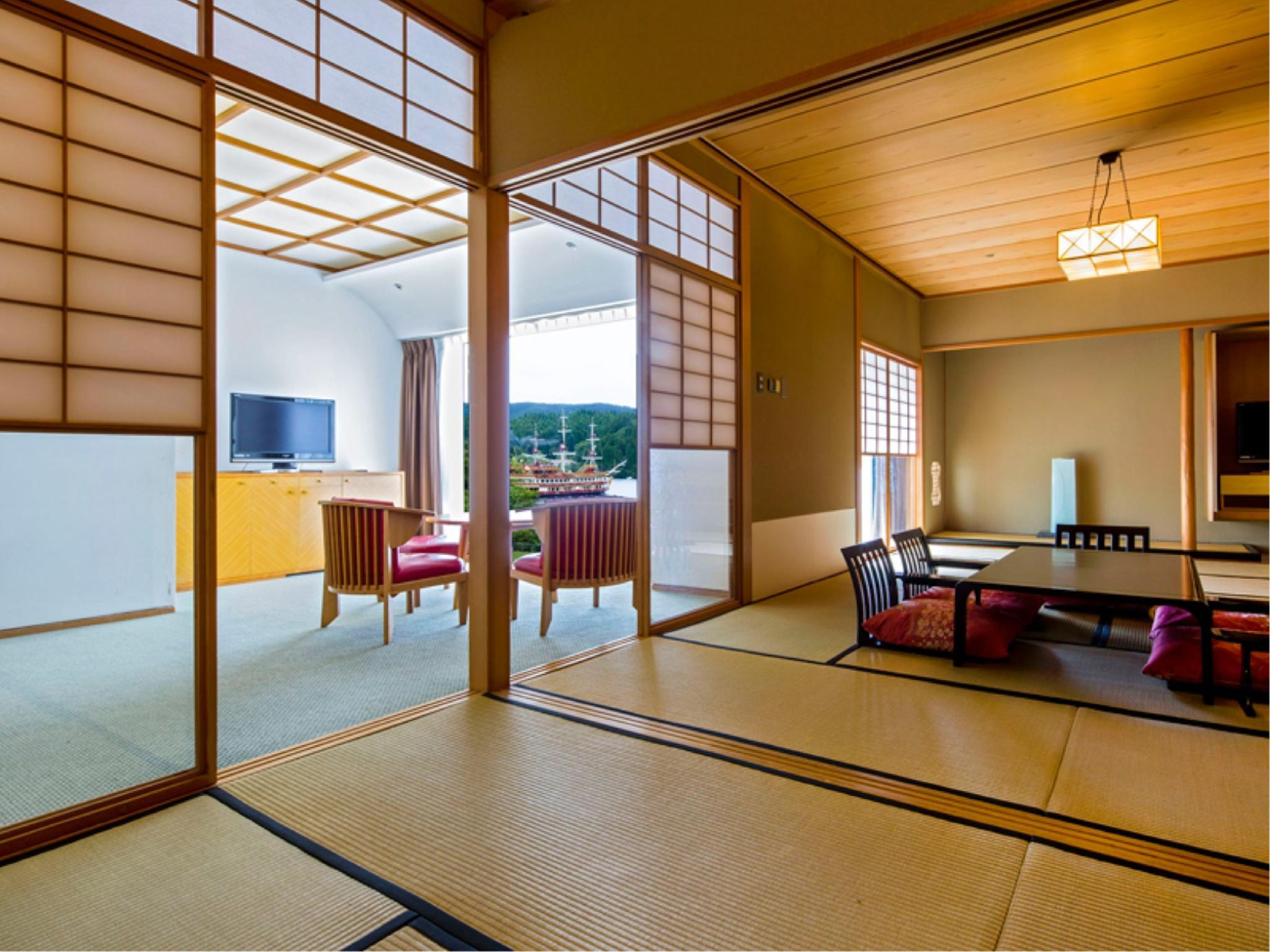 和式房+客廳 (Japanese-style Room with Living Room)