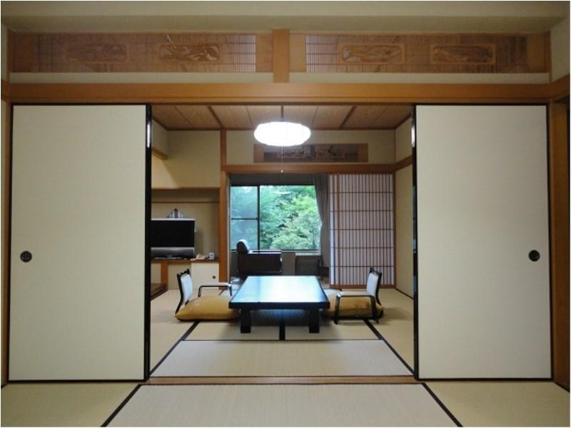 Special Room with Open-air Hot Spring Bath  (Japanese-style Room + Bedroom (s), Shinonomegusa Type)