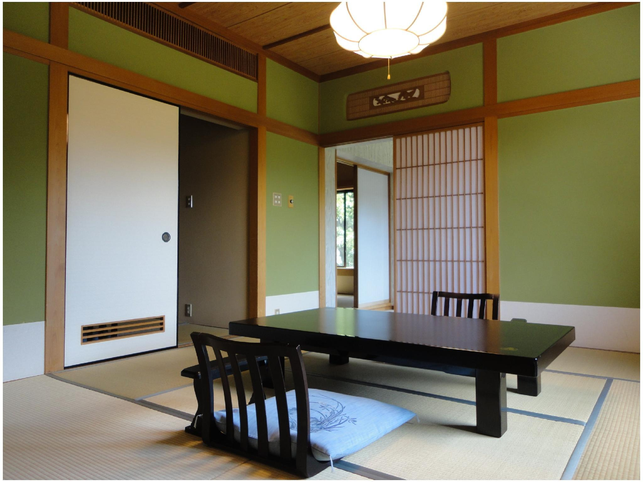 Corner Room with Open-air Hot Spring Bath (Japanese-style Room or Bedroom with Parlor)