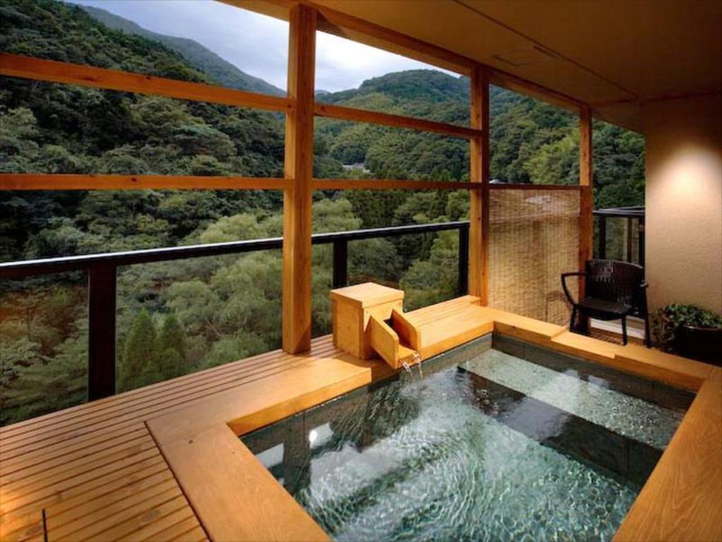 Japanese-style Room with Open-air Bath (Juraku-dai Type) - Guestroom