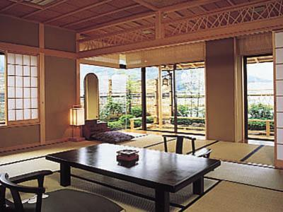 和室次の間 露天風呂付 (Japanese Style Room with Open-Air Bath)