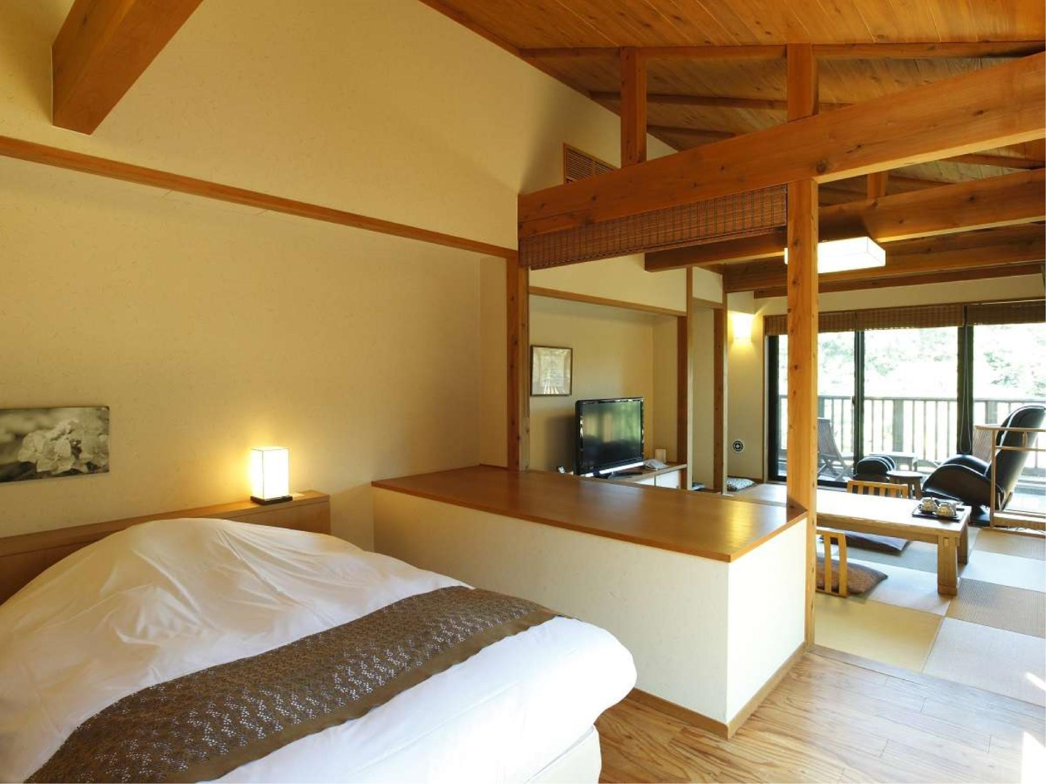 다다미 침대 객실 (Japanese/Western-style Room (2 Beds, Annex))