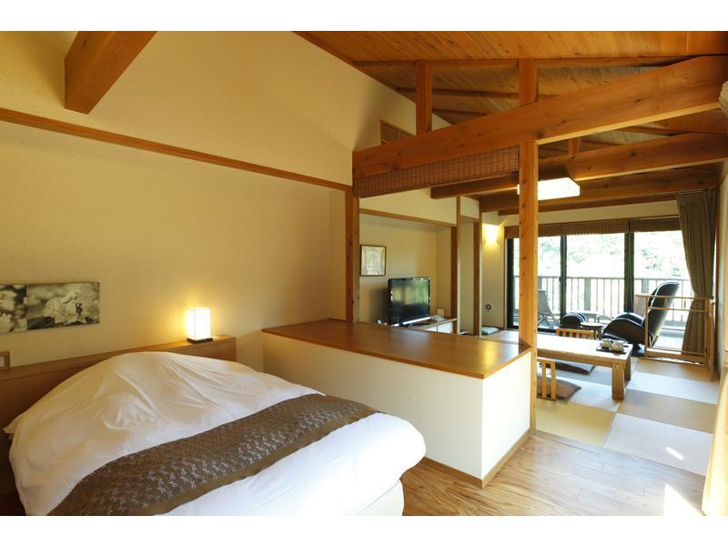Japanese/Western-style Room (2 Beds, Annex)