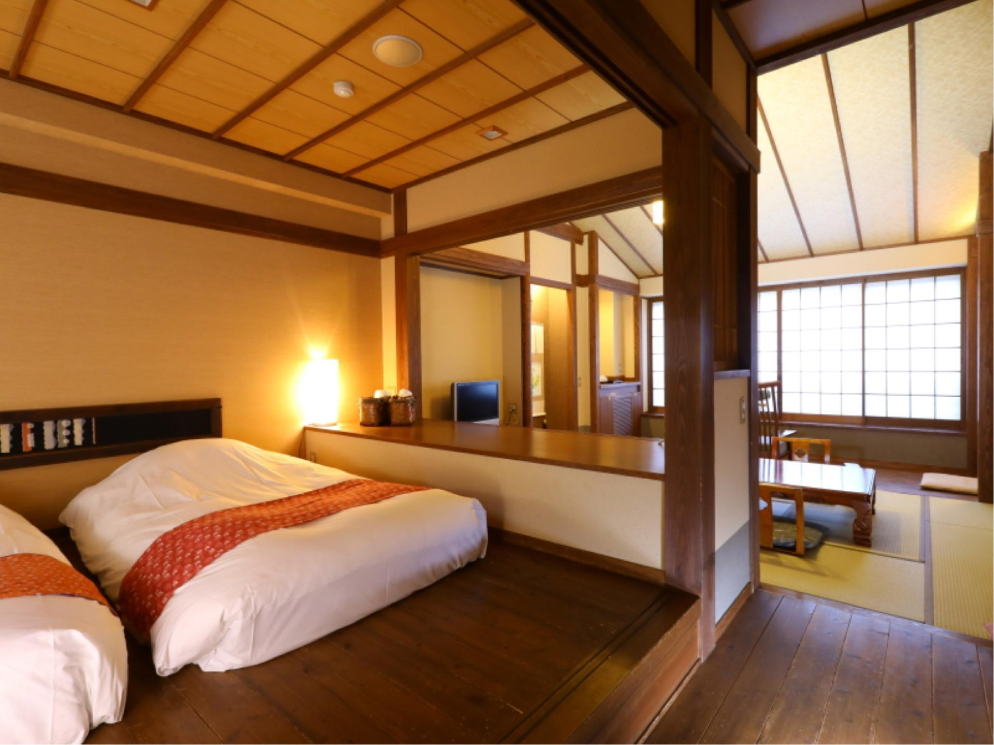 다다미 침대 객실(베드×2) (Japanese/Western-style Room (2 Beds))