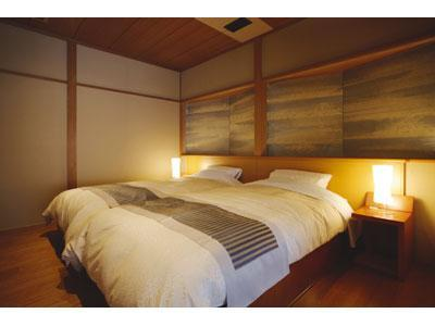 和洋式房(附足湯) (Japanese/Western-style Room With Foot Bath)