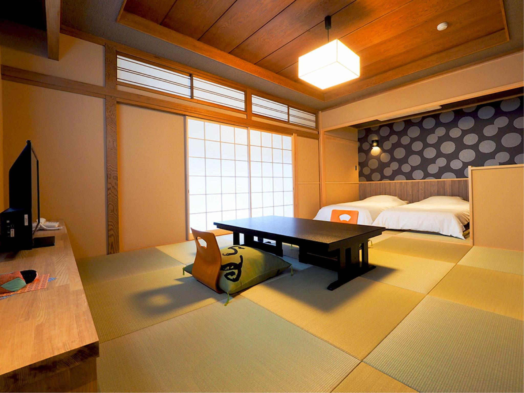 Standard Japanese-style Twin Room *Has shower