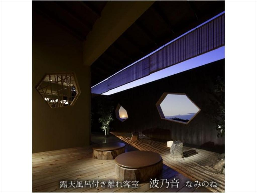 Detached Japanese/Western-style Room with Open-air Bath (Naminone Type) - Guestroom