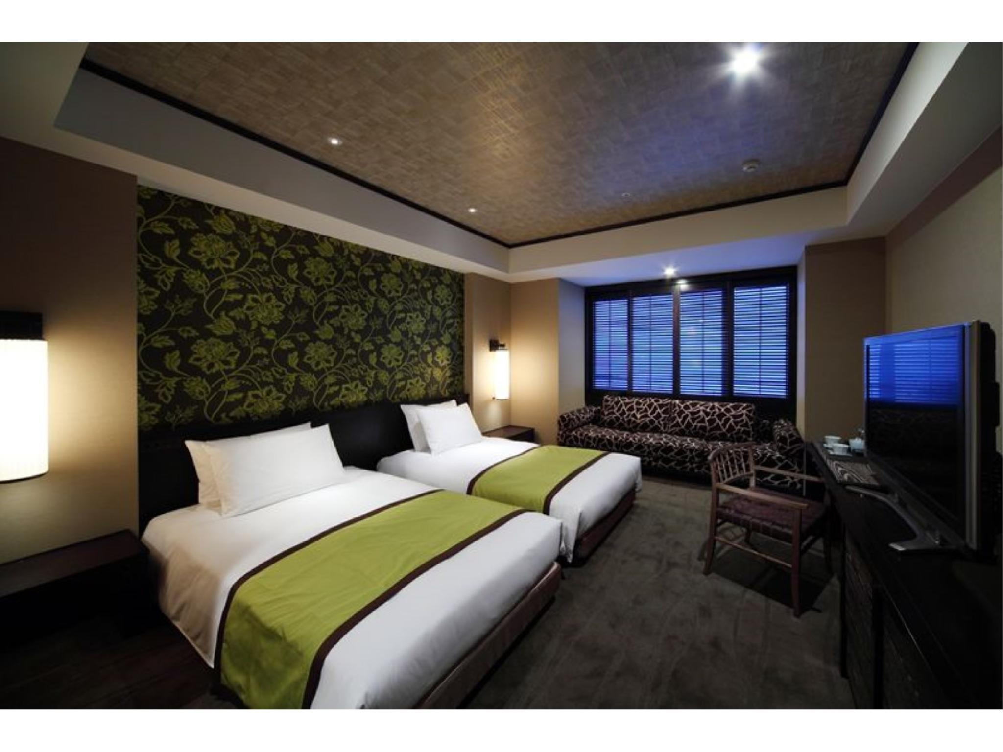 普通樓層 精緻雙人雙床房 (Superior Twin Room (Harbor View, Regular Floor))