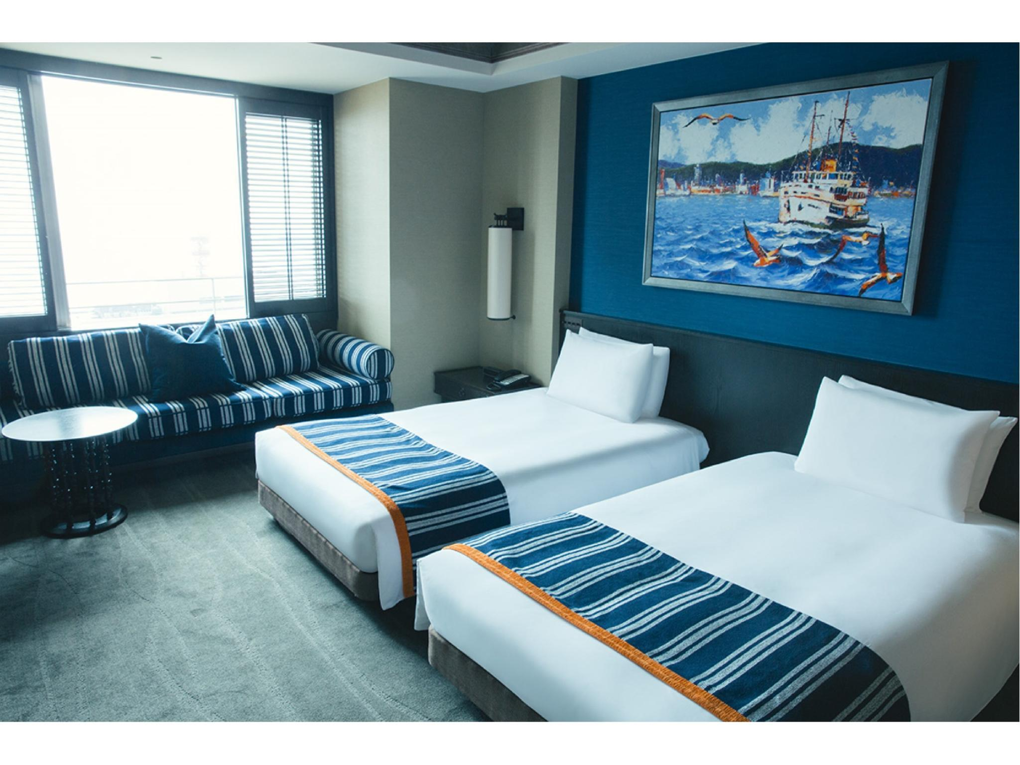 行政樓層 雙人雙床房 (Twin Room (Harbor View, Executive Floor))