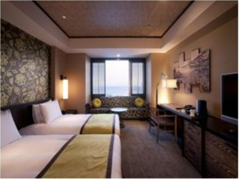 普通樓層 豪華雙人雙床房 (Deluxe Twin Room (City View, Regular Floor))