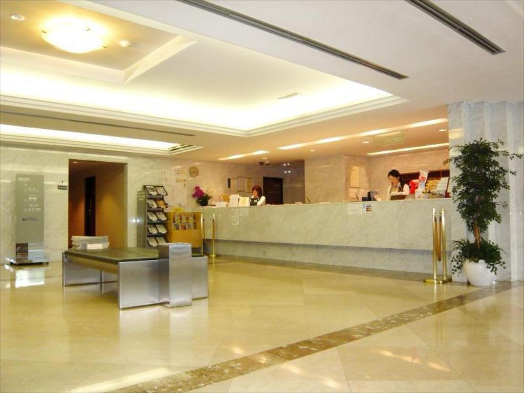 大堂 柏广场酒店 本馆 (Kashiwa Plaza Hotel Main Building)
