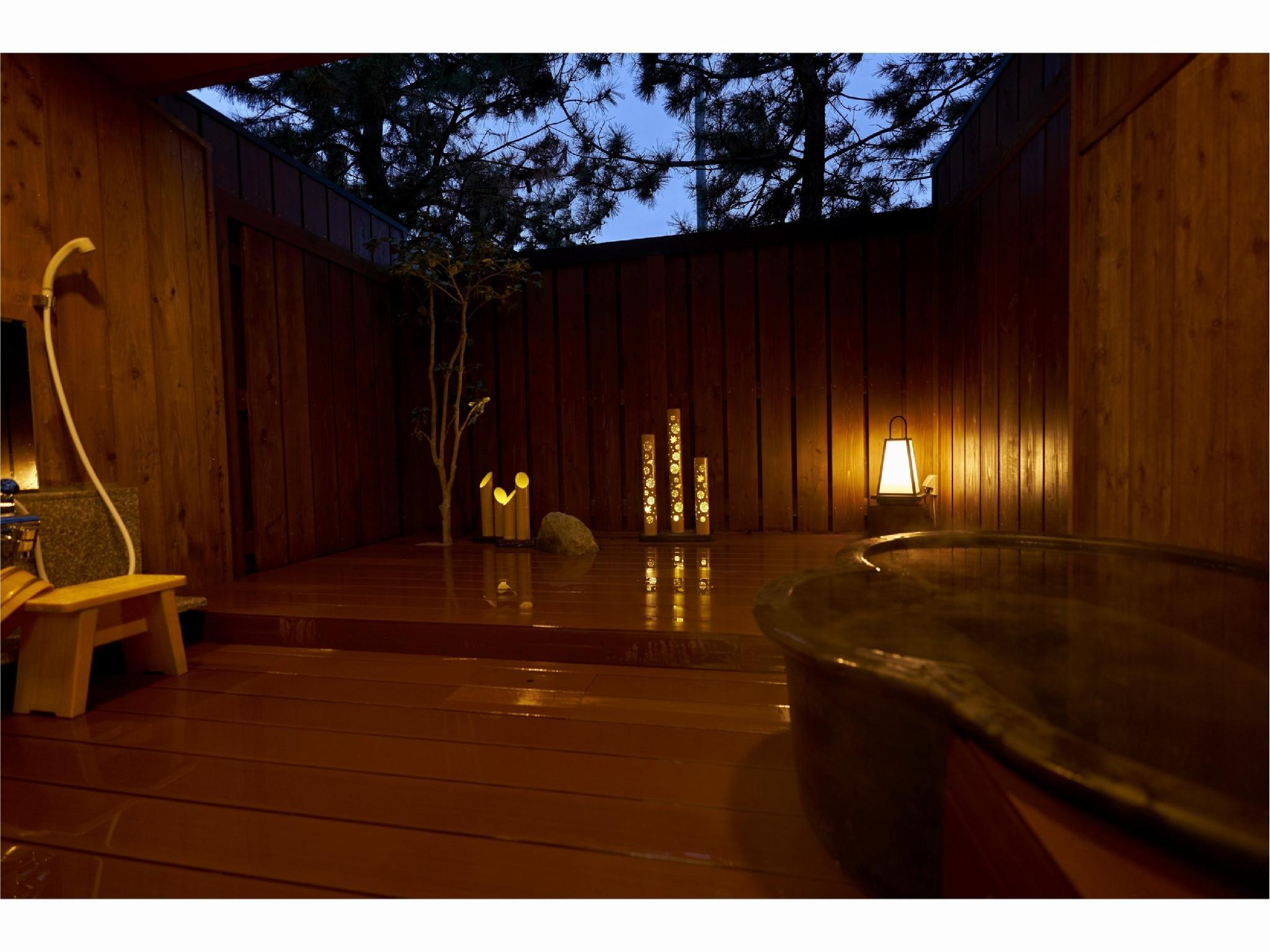 Japanese-style Room with Open-air Bath *No toilet or washroom