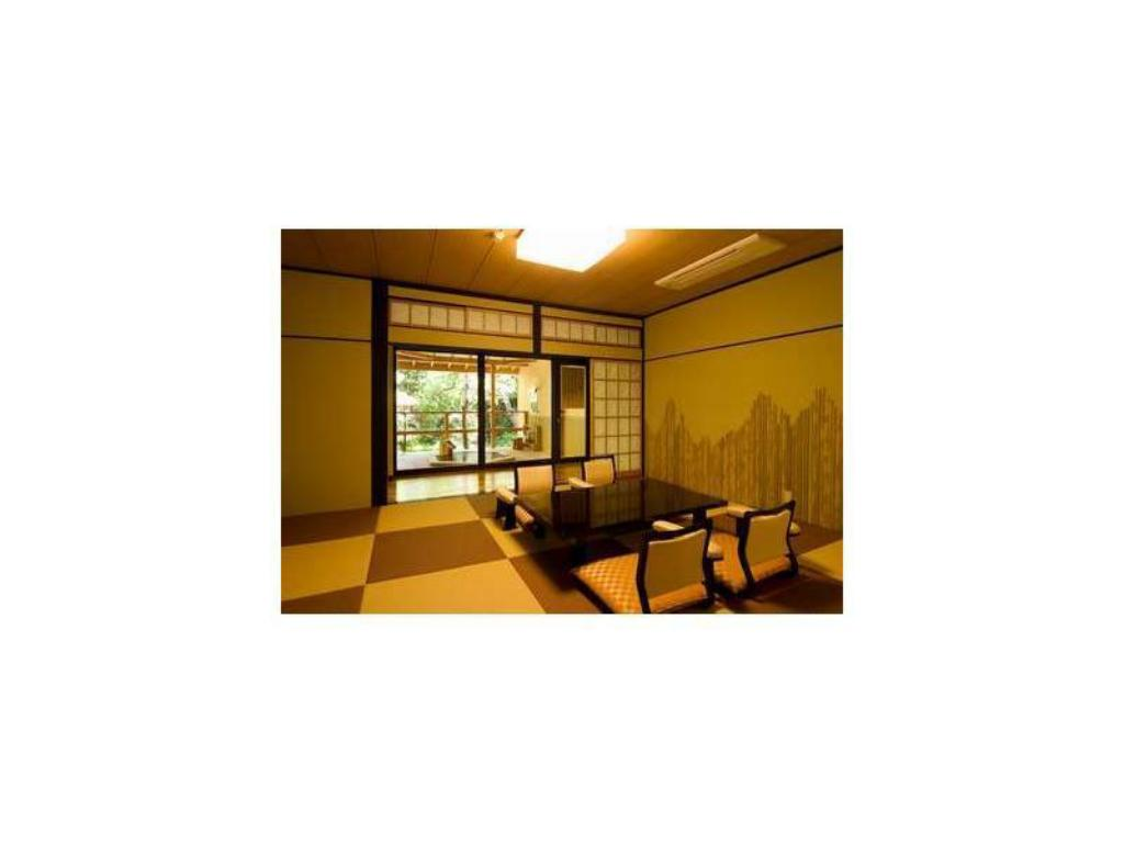 Japanese-style Room with Garden Open-air Bath - Guestroom Hotel Kameya Honten