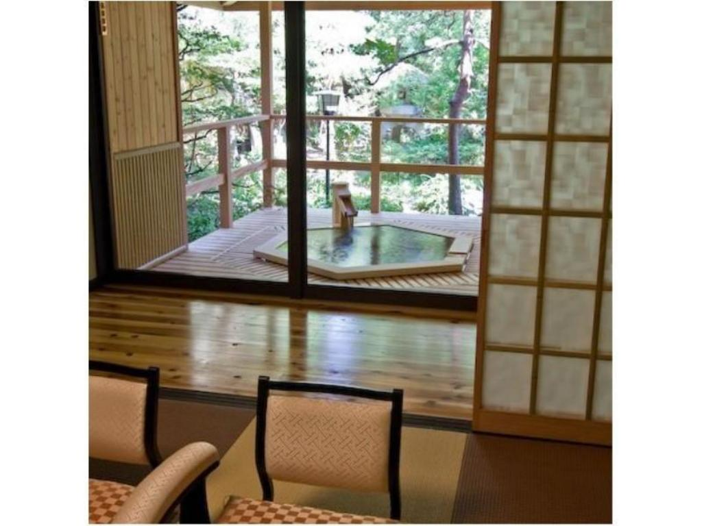 Special Japanese-style Room with Open-air Bath - Guestroom