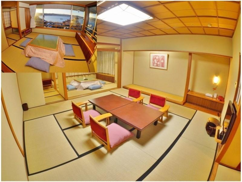 Japanese-style Room (Lake Suwa View, Upper Floor, Corner Room)