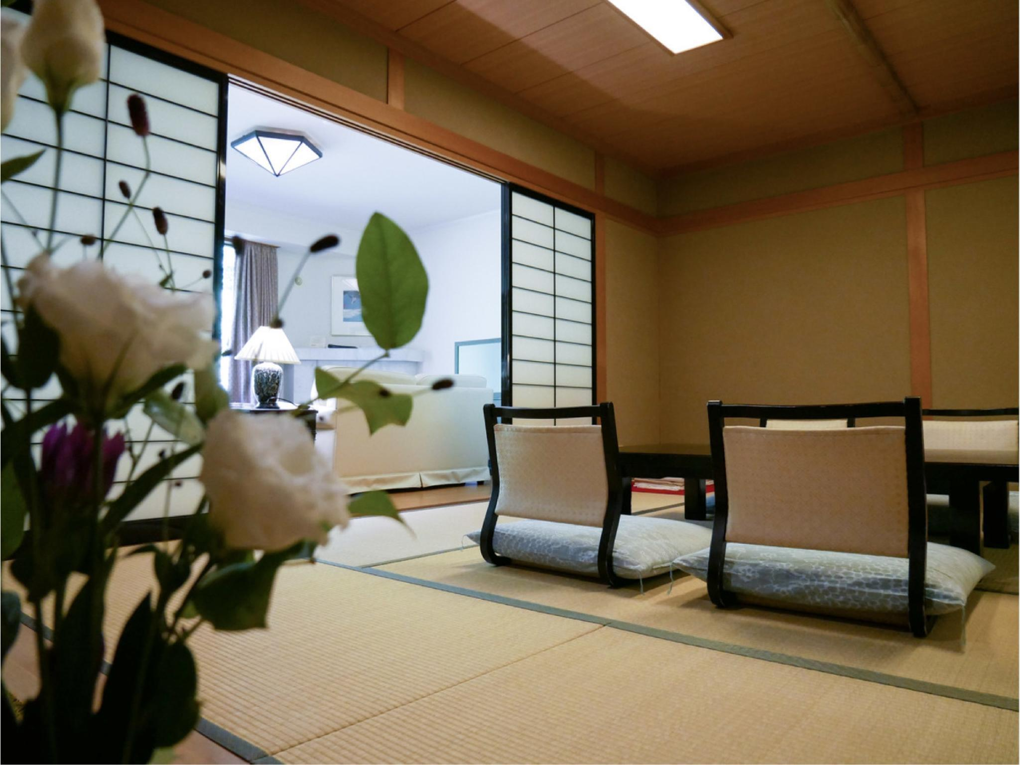 お鷹・和室10畳+リビング14平米 (Japanese-style Room with Living Room (Otaka Wing))