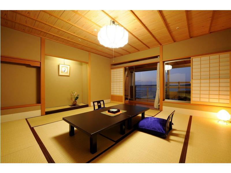 Japanese-style Room with Open-air Bath (Hakuho Tower)