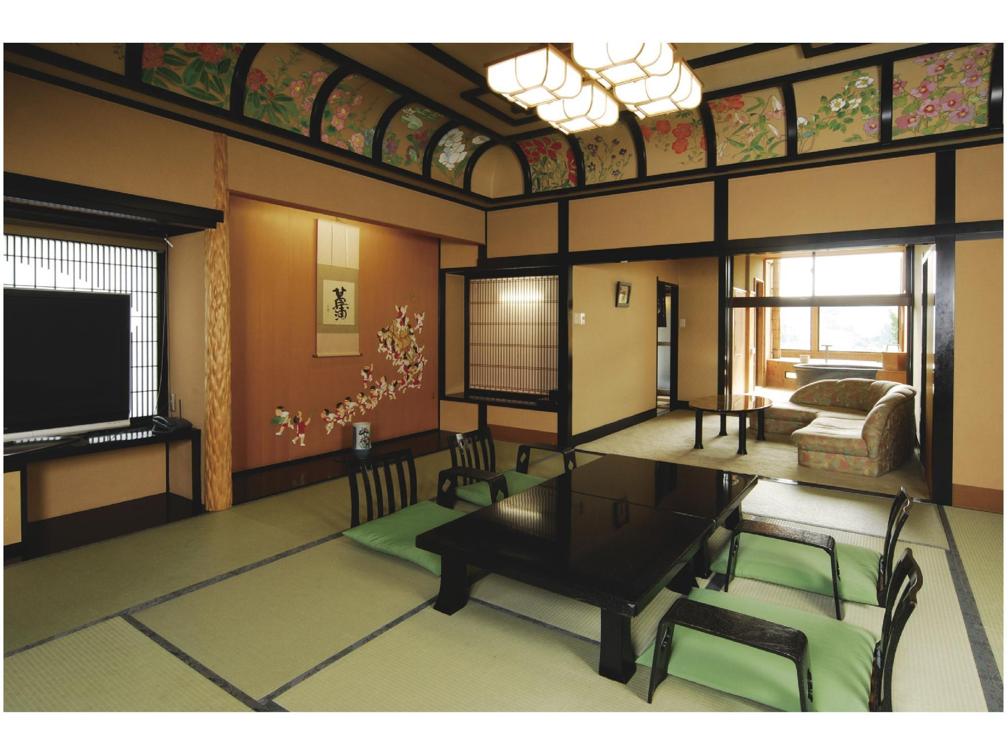 Special Room with Open-air Bath (Korin-no-Yakata Wing)