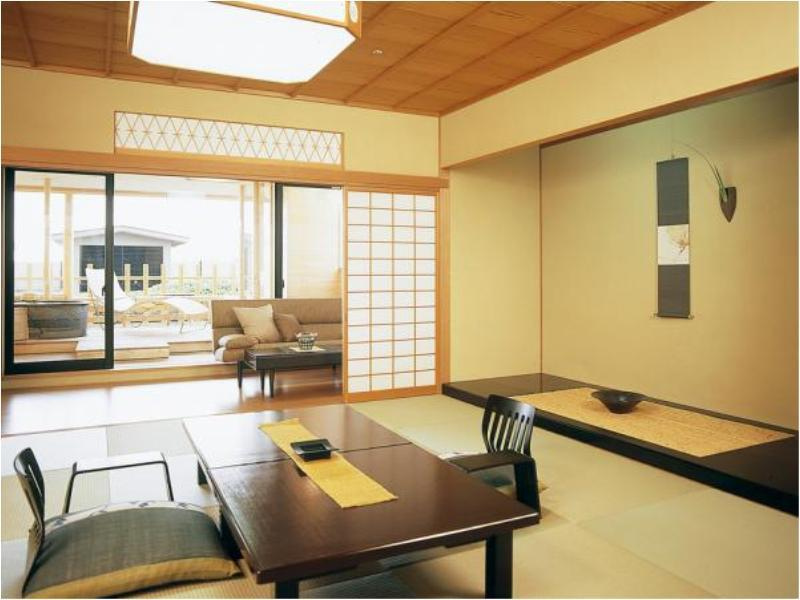 时忘离座 和式房+露天风吕(4/1起禁烟) (Japanese-style Room with Open-air Bath (Tokiwasure Hanareza Floor) *Non-smoking from Apr. 1)