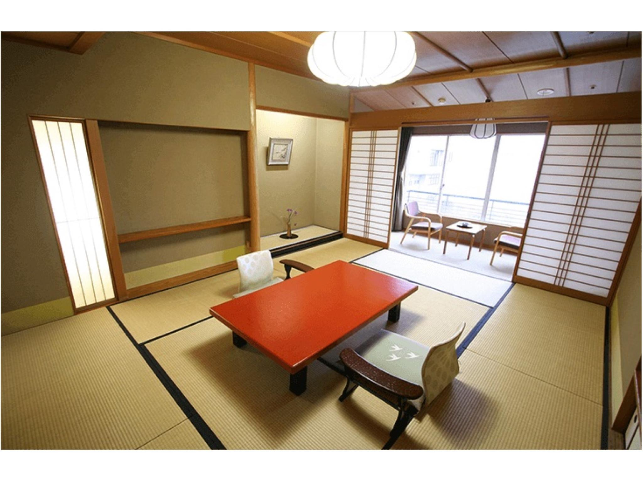 本館 和室(10畳+踏込2畳)  (Japanese Style Room Main Building)