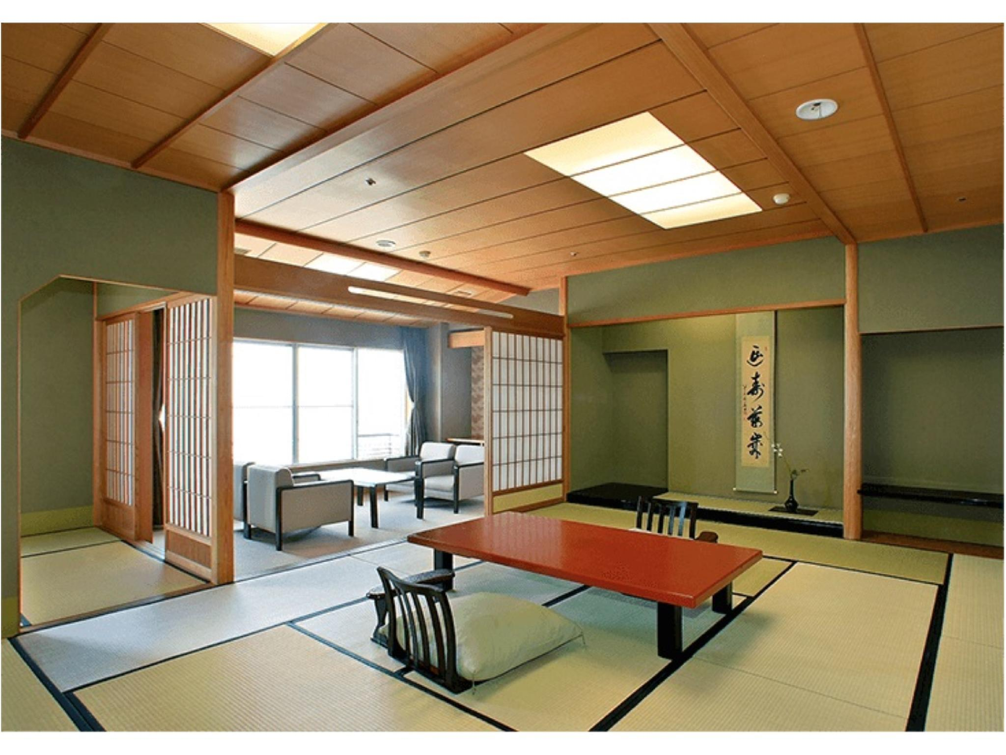 本館 和室(12.5畳+次の間6畳) (Japanese Style Room Main Building)
