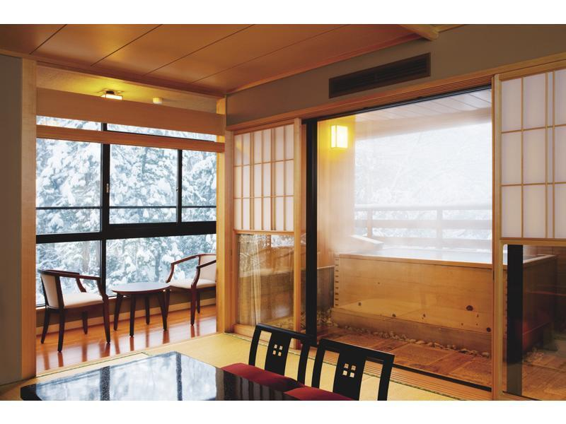 和室|10畳 (Japanese-style Room with Open-air Bath (Tsuki Type))