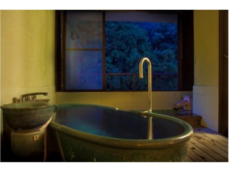 Suite with Open-air Hot Spring Bath (Room 102, Rokushoan Type)