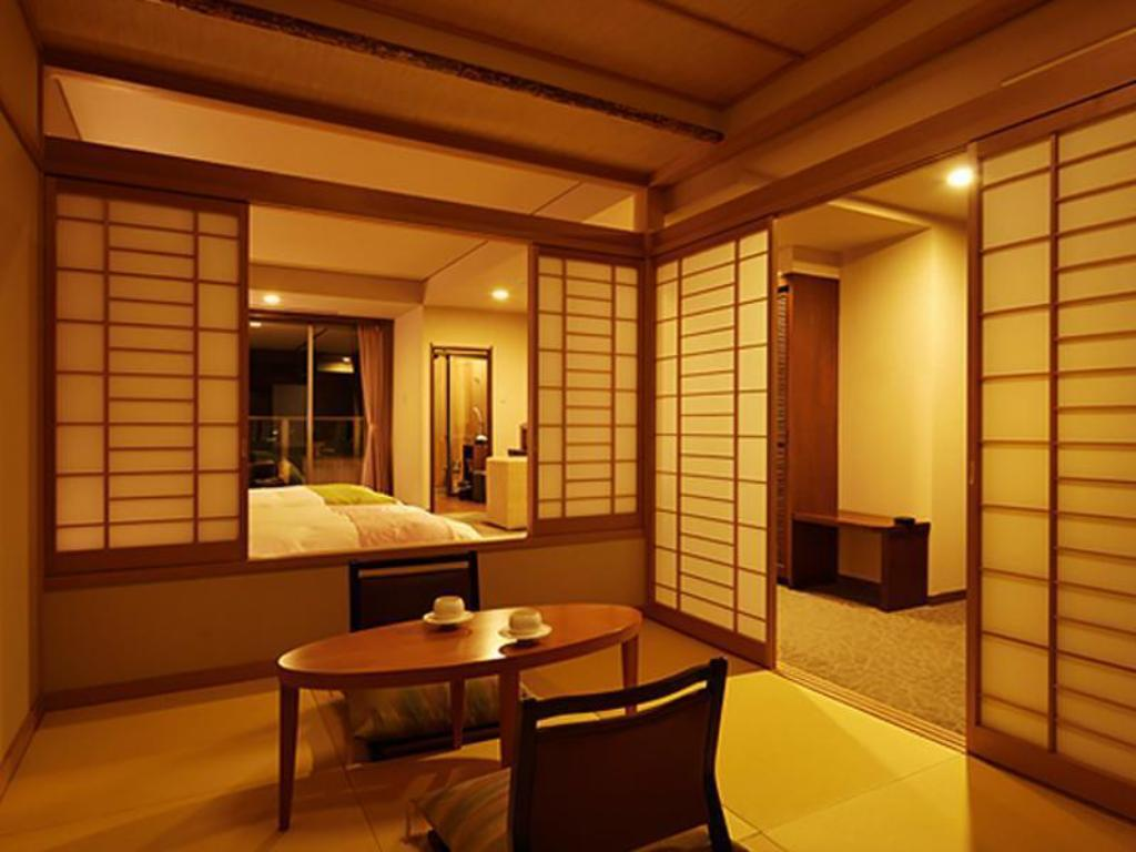 Special Japanese/Western-style Room with Open-air Bath (2 Beds) - Guestroom