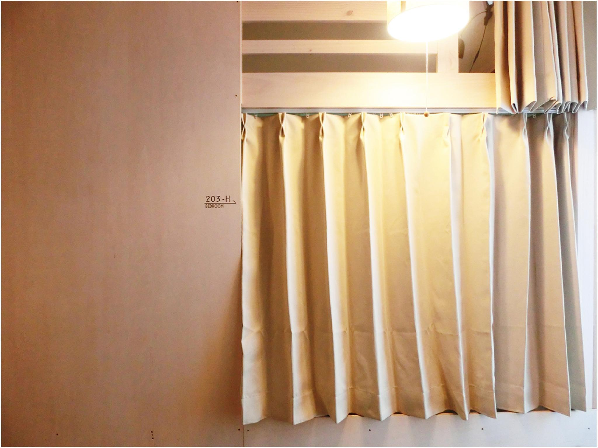 女士合住房(雙層床) (Ladies' Dormitory Room (Bunk Beds))