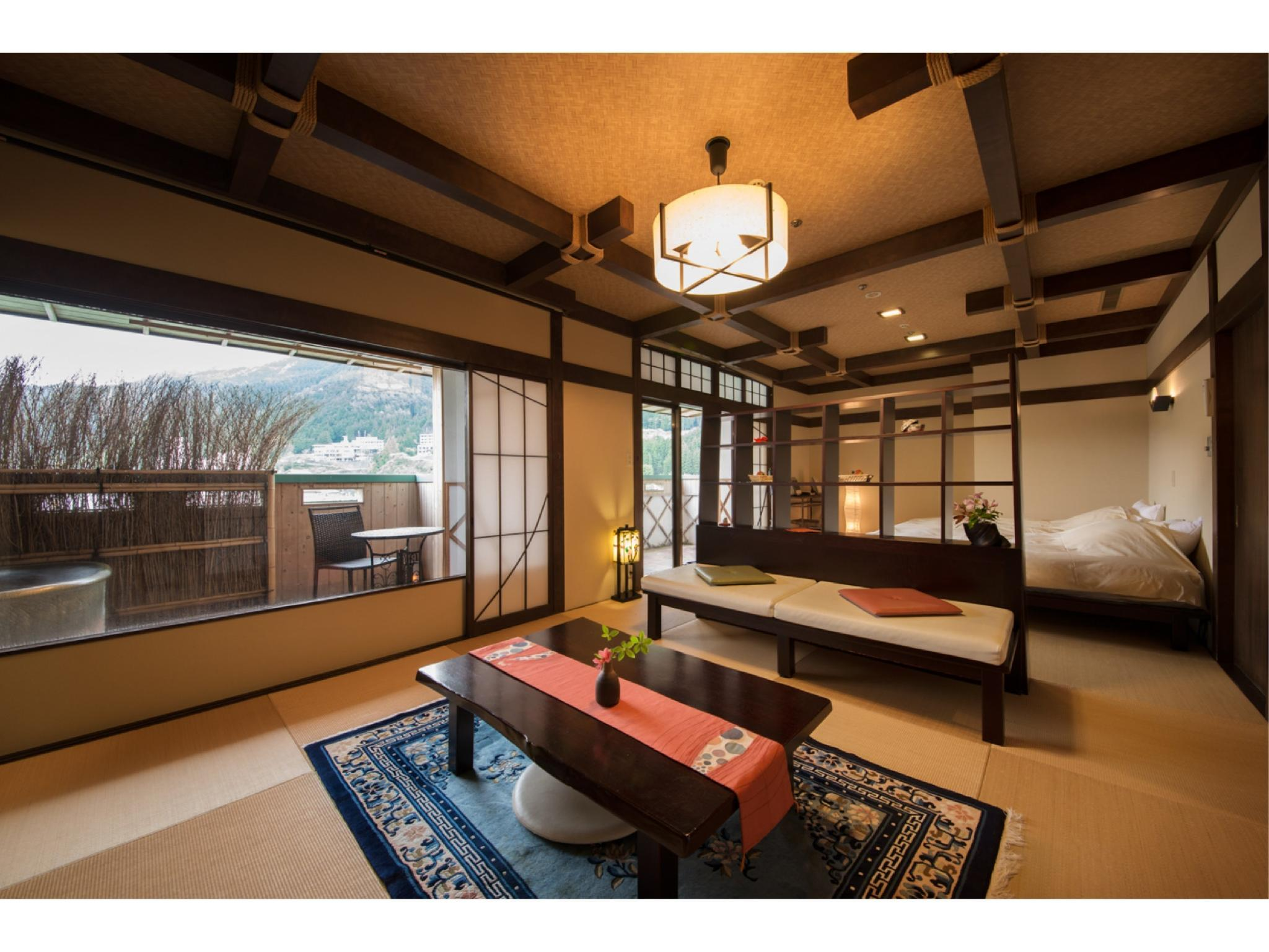Japanese-style Room with Japanese Bed/s (Tosenkaku Wing)