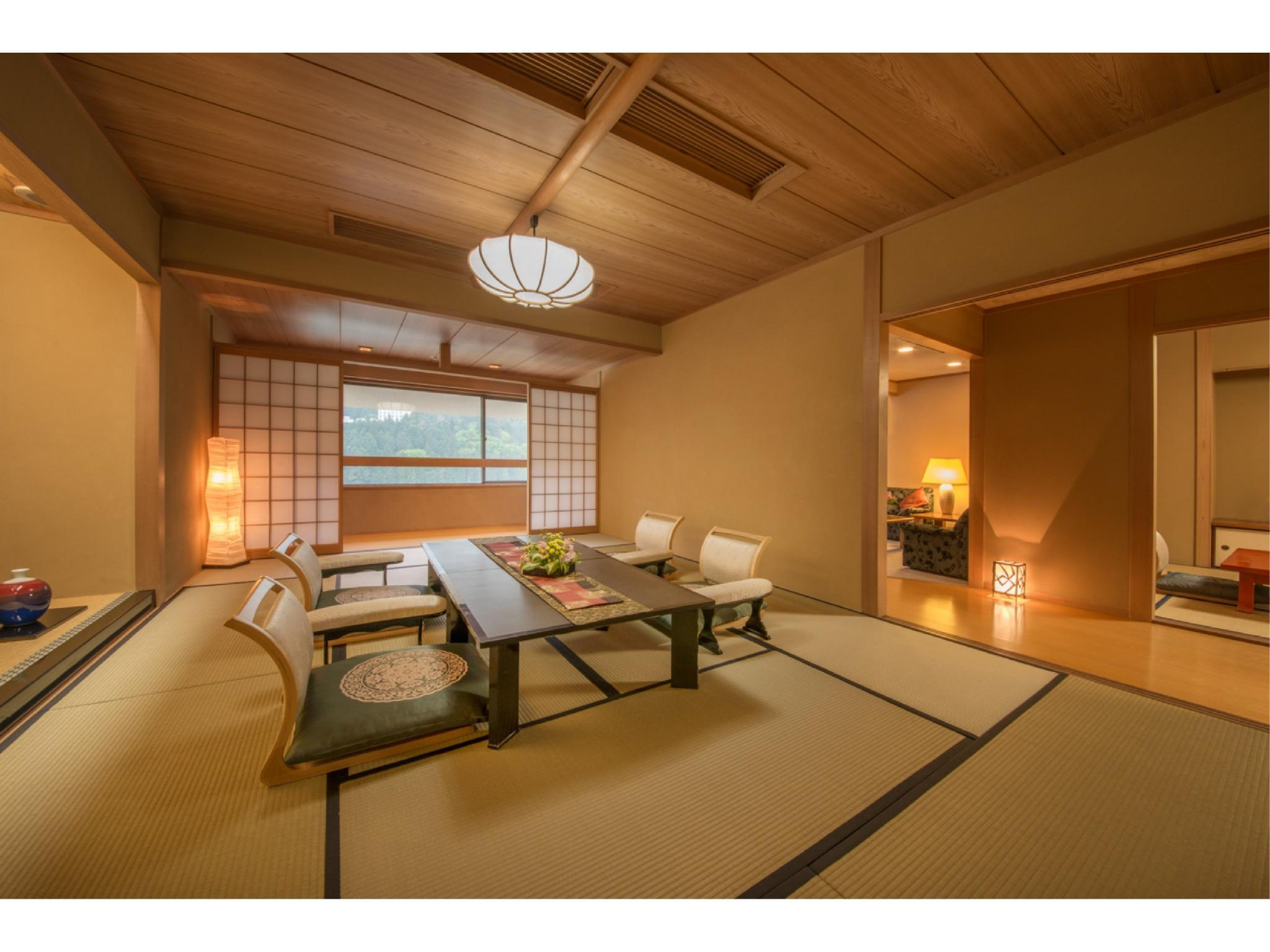 Special Suite (Top Floor, Daikanso Wing)