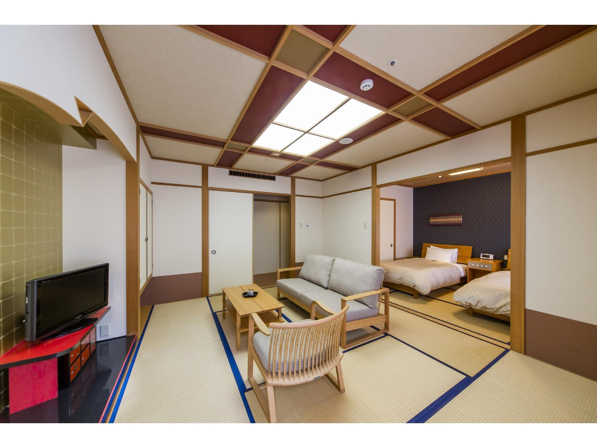 Japanese-style Room with Japanese Bed(s)  (Japanese-style Room with Bed/s (East Wing))