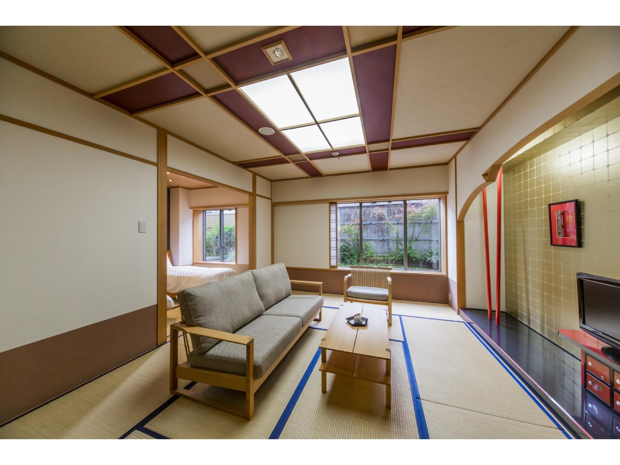 Japanese-style Room with Bed/s (Yuga Type)