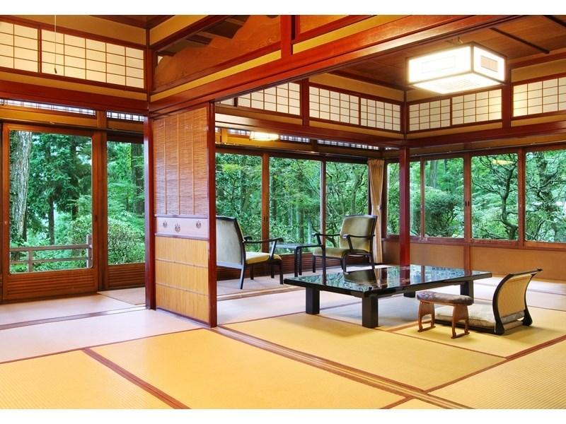 春慶莊 特別房(和式房+露天風呂) (Special Japanese-style Room with Open-air Bath (Shunkeiso Type))