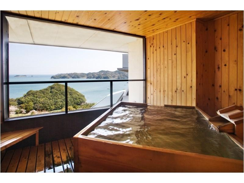 和式房 (Superior Japanese-style Room with Open-air Bath (Tobishima-kan Wing))