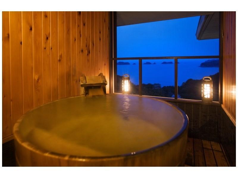 스위트룸(TOBISHIMA-KAN/2베드/노천탕) (Suite with Open-air Bath (2 Beds, Tobishima-kan Wing))