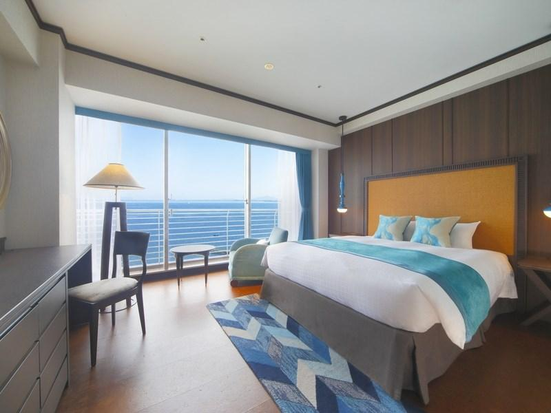 奢華樓層「Aqua」 雙人大床房+湖景露台 (Double Room with Lake View Terrace (Luxury Floor Aqua))