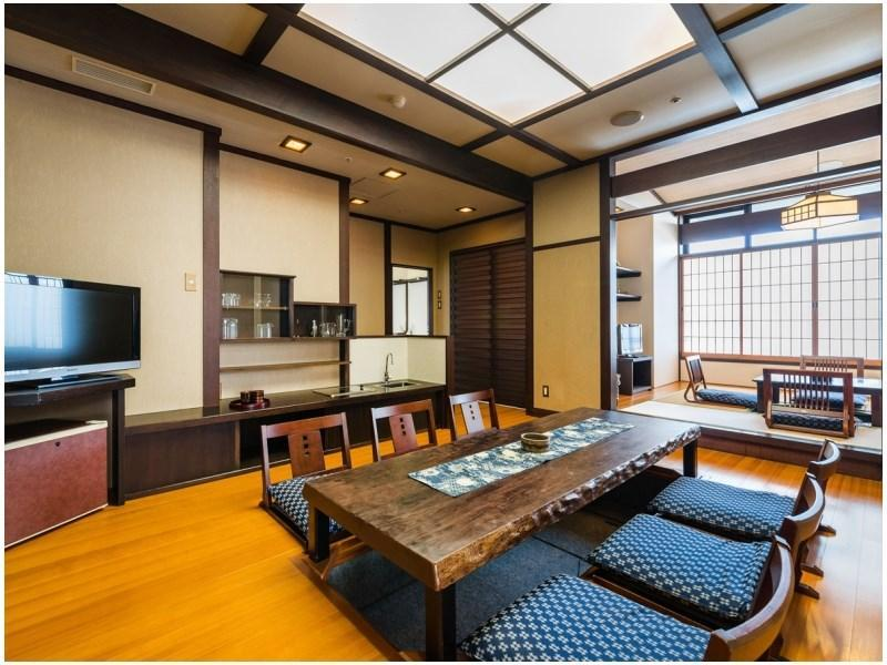 特別房(Excellent房+室內風呂+露天風呂) (Excellent Room with Open-air Bath + Indoor Bath (Special Room))