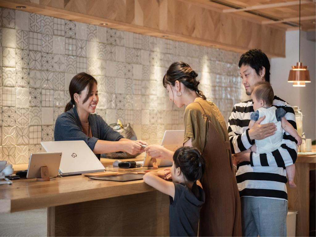 ロビー RAKURO 京都 by THE SHARE HOTELS (Rakuro Kyoto by The Share Hotels)
