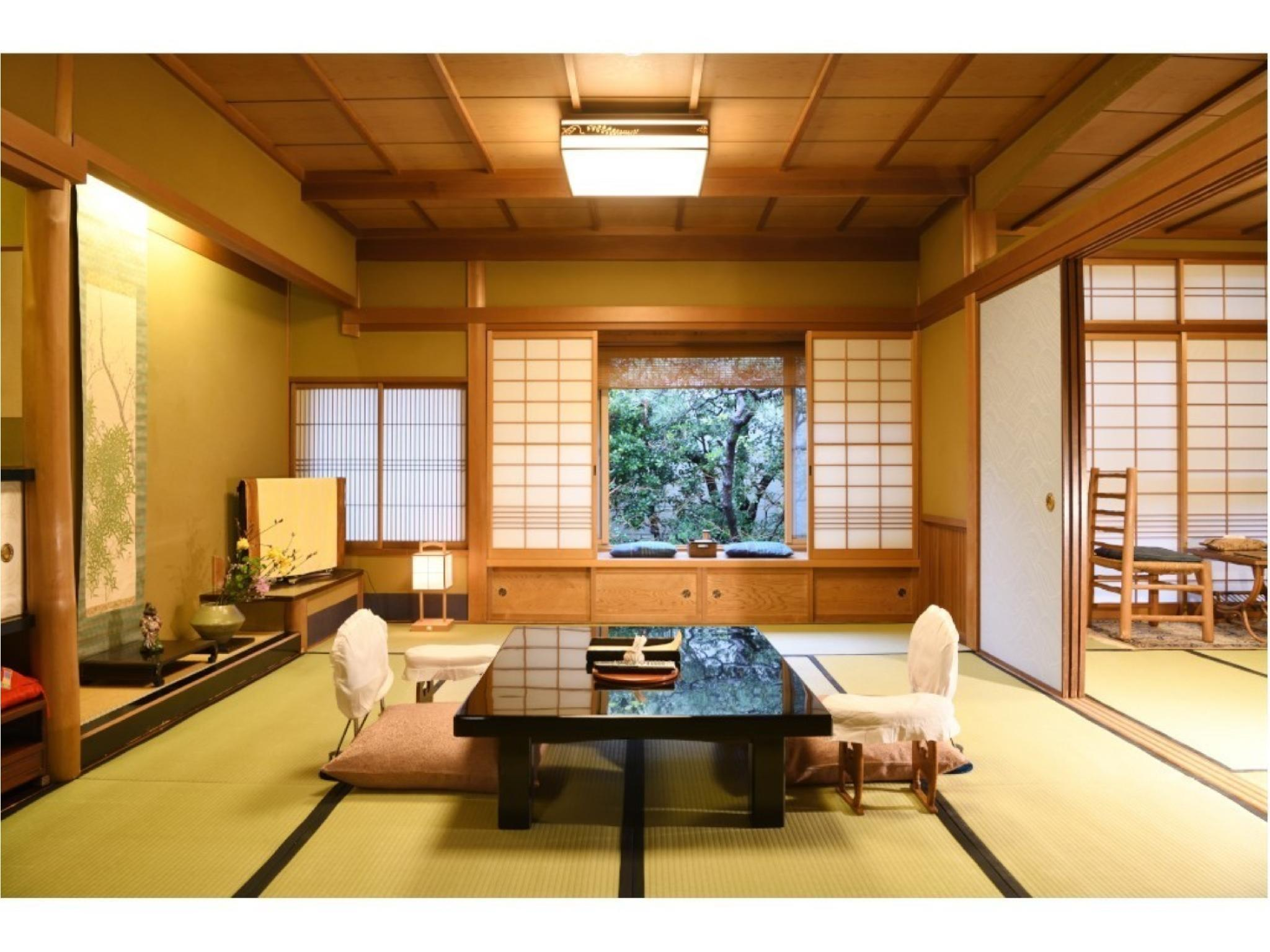 디럭스 다다미 객실(본관) (Deluxe Japanese-style Room (Main Building))
