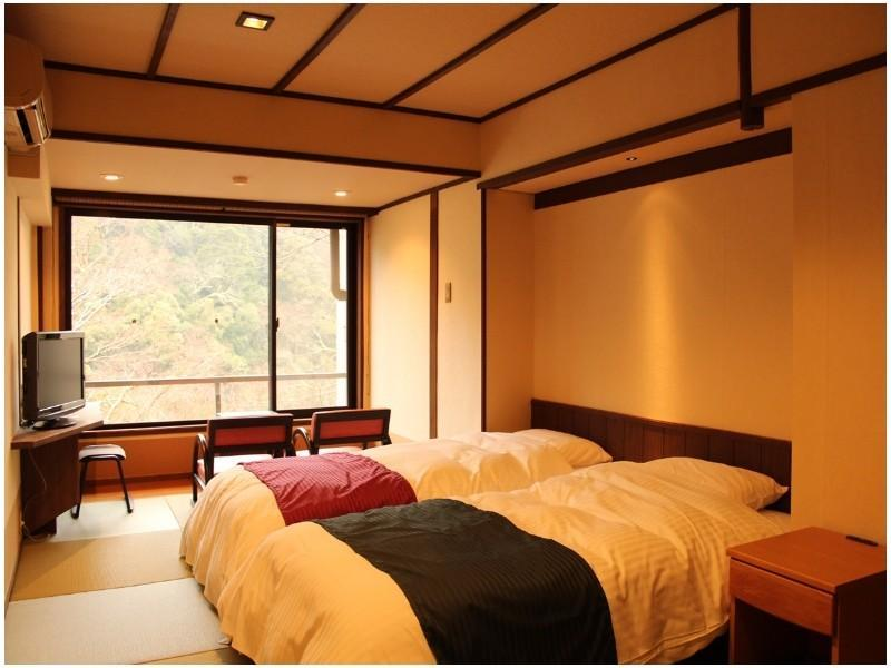 Japanese-style Room with Bed(s)*Has shower, no bath in room