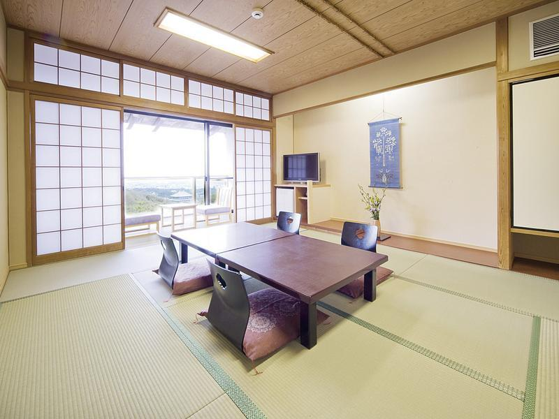 風の棟 眺望和室 (Japanese-style Room  (Scenic View, Kaze-no-To Wing) (*Non-smoking from 2020/11/1))