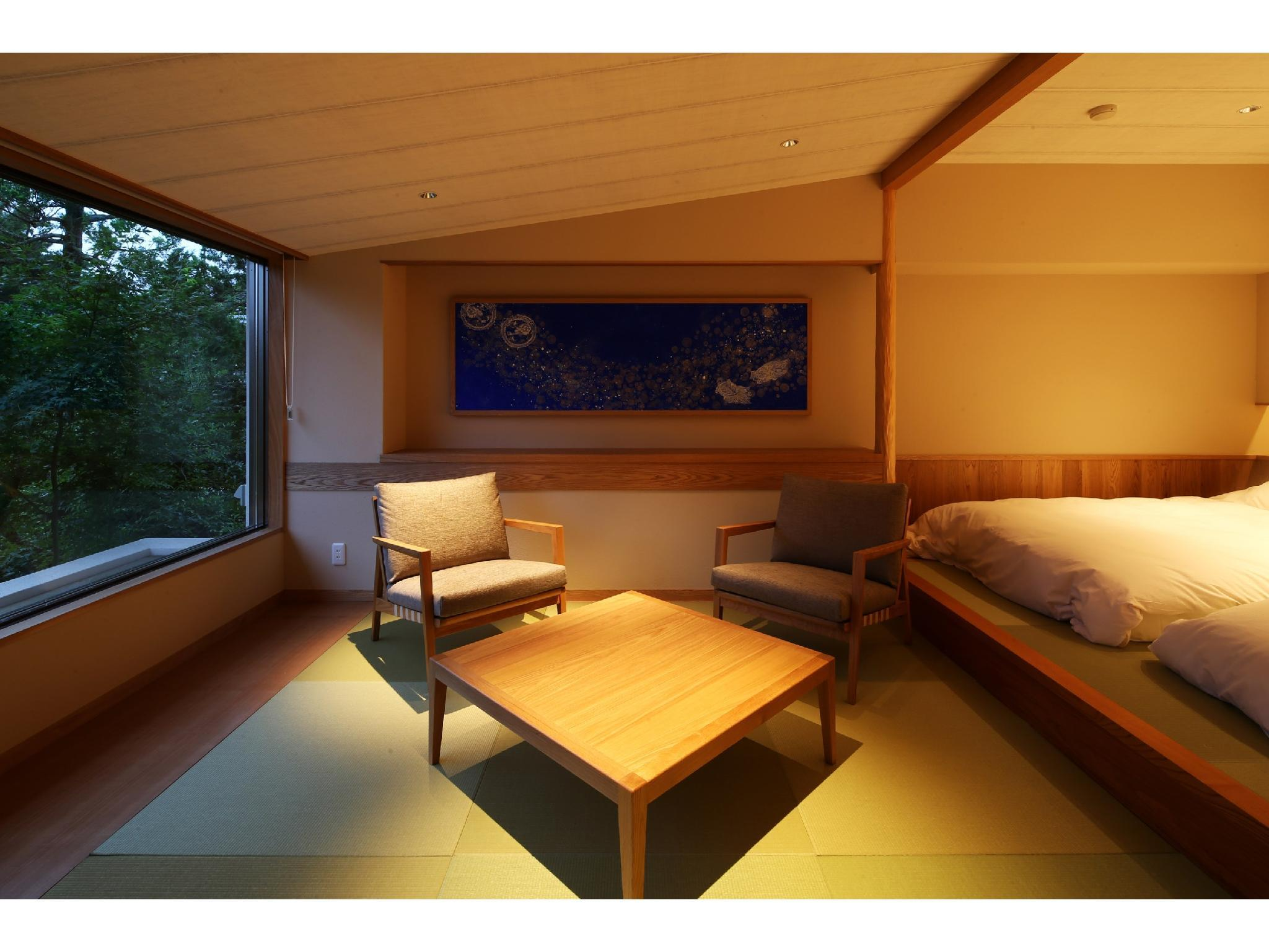 다다미 객실(MAI-NO-TO/2일본식베드) (Japanese-style Room (2 Japanese Beds, Mai no To Wing))